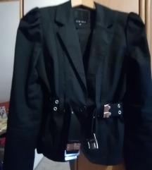 Fekete rövid kabát