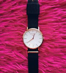 Chronos elegáns fekete óra