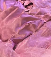 Mályva rózsaszín alkalmi ruha