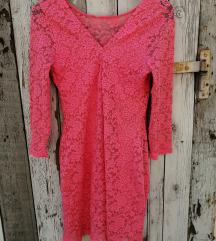 Rózsaszín csipke ruha NEM cserélem