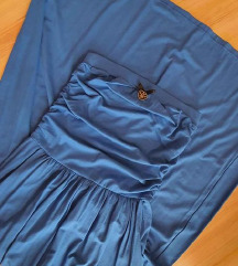 MY77 királykék maxi ruha
