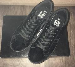 Fabric plüss anyagú cipő magastalpú