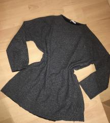 Zara pulóver felső szürke S