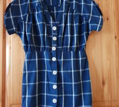 Zara kockás ruha - M méret