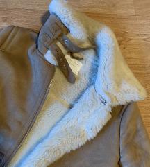 Zara barna irha kabát