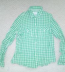 H&M zöld kockás ing akciós áron eladó