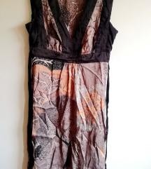 Oasis különleges mintájú selyemruha
