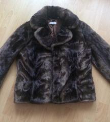 Kiárusítás 🖤🖤🖤 Újszerű szőrme kabát