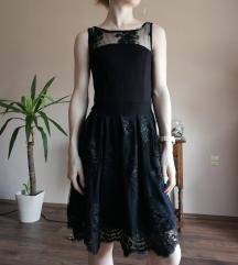 Fekete csipkés ruha Mayo Chix