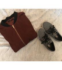 FOGLALT▪️ Bordó-fekete bomber kabát ▪️