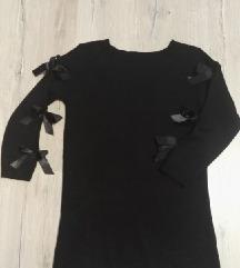 Fekete masnis pulcsi