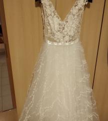 Esküvői ruha - Daalarna OCN401 (egyszer viselt)
