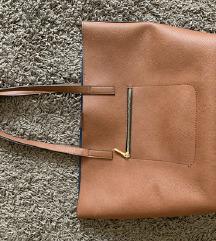 H&m Barna divatos nagyméretű táska elegáns