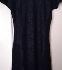 Fekete miniruha M-es