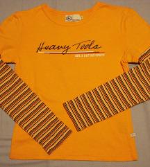 Heavy Tools csíkos, narancssárga felső