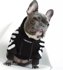 """""""Woof"""" off white kutyapulcsi"""