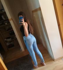 Új Bershka Ripped High Waist Skinny Jeans