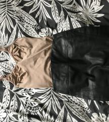 Palmers Nude/bézs merevítős body