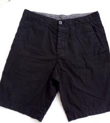 % H&M férfi fekete short (30-as méret)