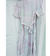 Különleges vintage pasztell ruha M/L