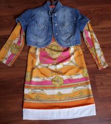 Bolero-tunika ruha szett 38 méretre