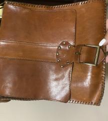 Rozsda barna bőr táska