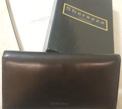 ÚJ! fekete bőr pénztárca