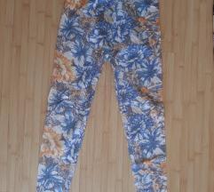 Virágmintás nyári vékony nadrág
