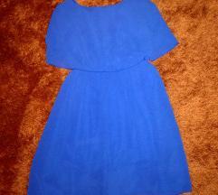 S-es kék nyári ruha