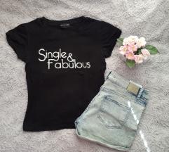 Single & fabulous póló