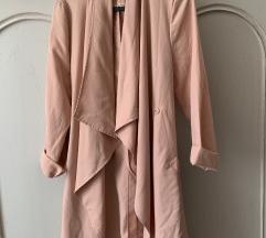 H&M rózsaszín tavaszi kabát