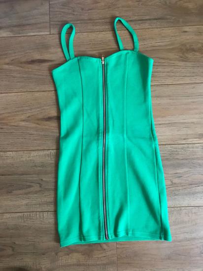 36-os zöld H&M-es nyári ruha