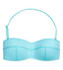 H&M címkés türkiz bandeau bikini 36 S