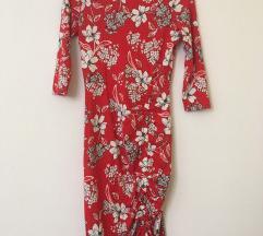 Orsay virágos bodycon ruha ÚJ! Címkés!