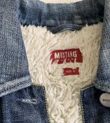 Eredeti Mustang női szőrmés farmer kabát