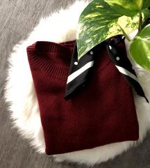 H&M Burgundivörös pulcsi - Ingyenes Szállítással