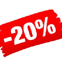 -20% minden ruhára januárban !