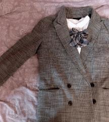 Szürke átmeneti kabát/blézer