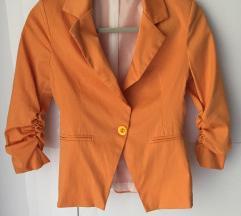 Narancs női blézer