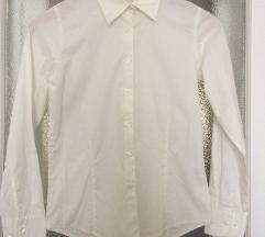 Sols amerikai fehér karcsúsított pamut ing