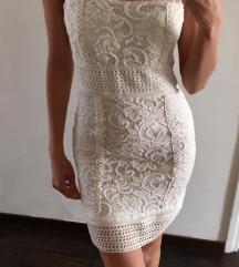 Fehér csipke női ruha