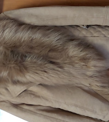 Szörmés téli kabát