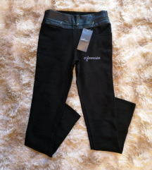 ELADVA Fekete leggings S-L