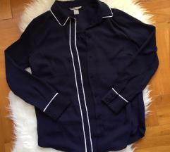 H&M sötétkék ing (teljesen új)