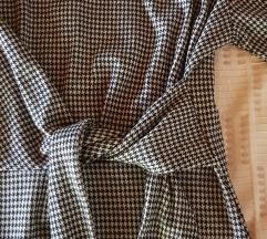 MANGO S tyúklábmintás őszi-téli ruha