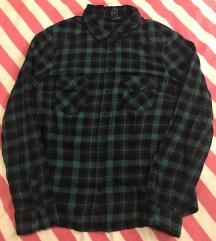 H&M zöld kockás ing