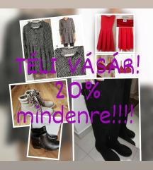 Téli vásár!! ❄️-20% mindere❄️