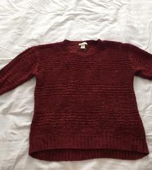 bordó pulóver