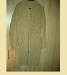 Vero Moda őz barna kord őszi tavaszi kabát L