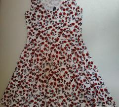 36-os virágmintás Divided (H&M) ruha